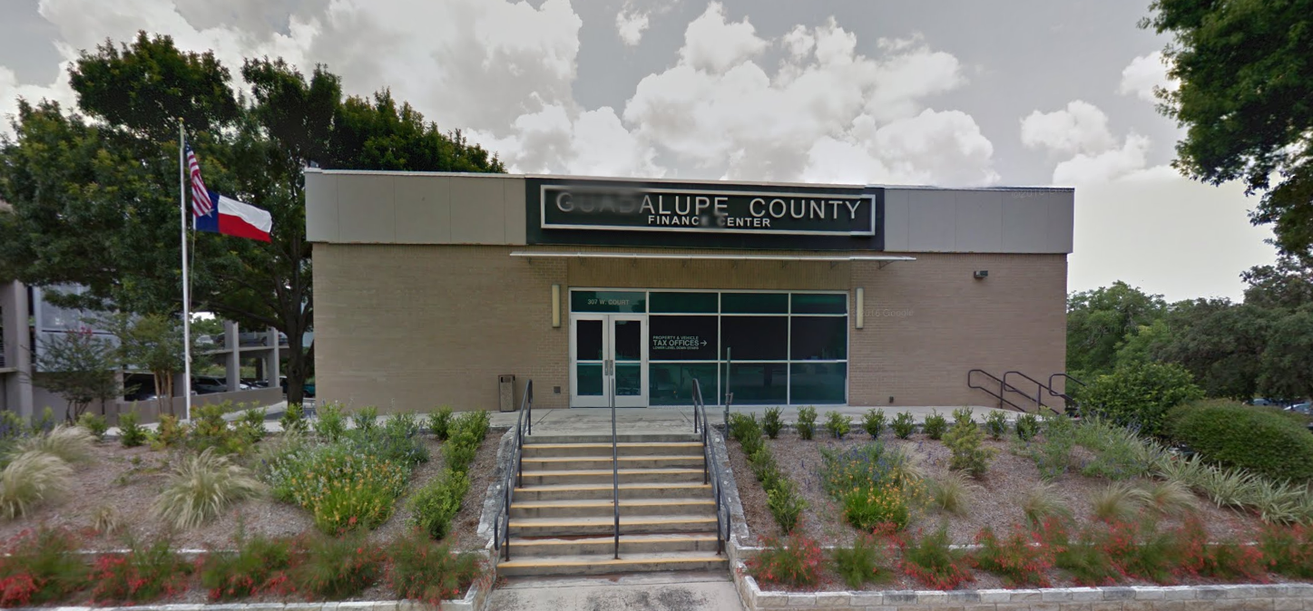 Guadalupe County Tax Office Home